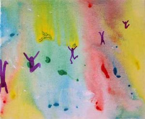 """Joy to the World by Emelisa Mudle (click to visit her blog """"Heart Art"""")"""